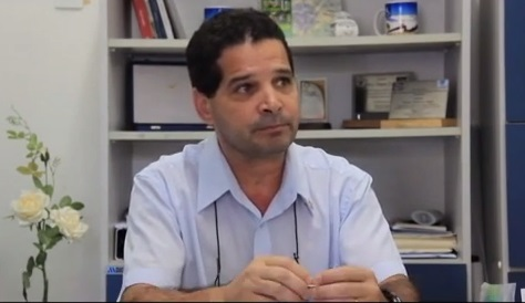 Silvio Roberto Pupo, representante da regional  de santos, deu entrevista ao programa Comunidade Policial