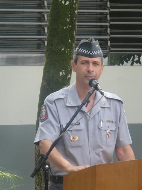 Coronel Roberto, Comandante do do CPAM-5