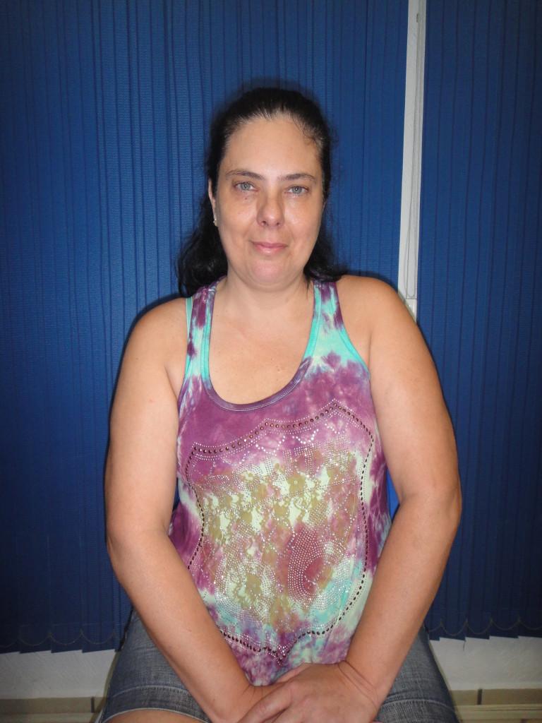(Foto: Divulgação/ APMDFESP) Soldado PM Silvia Lucia Longhi, que utiliza os benefícios da APMDFESP para si e seus dependentes