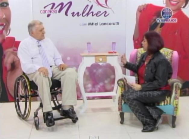 Mhel Lancerotti entrevistou o presidente Elcio Inocente