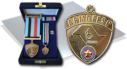 Medalha Eterno Guerreiro