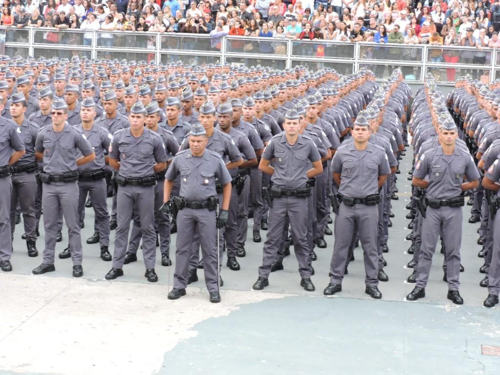Formatura de 2.811 Soldados da Polícia Militar, que passaram pelo rigoroso controle da ESSd