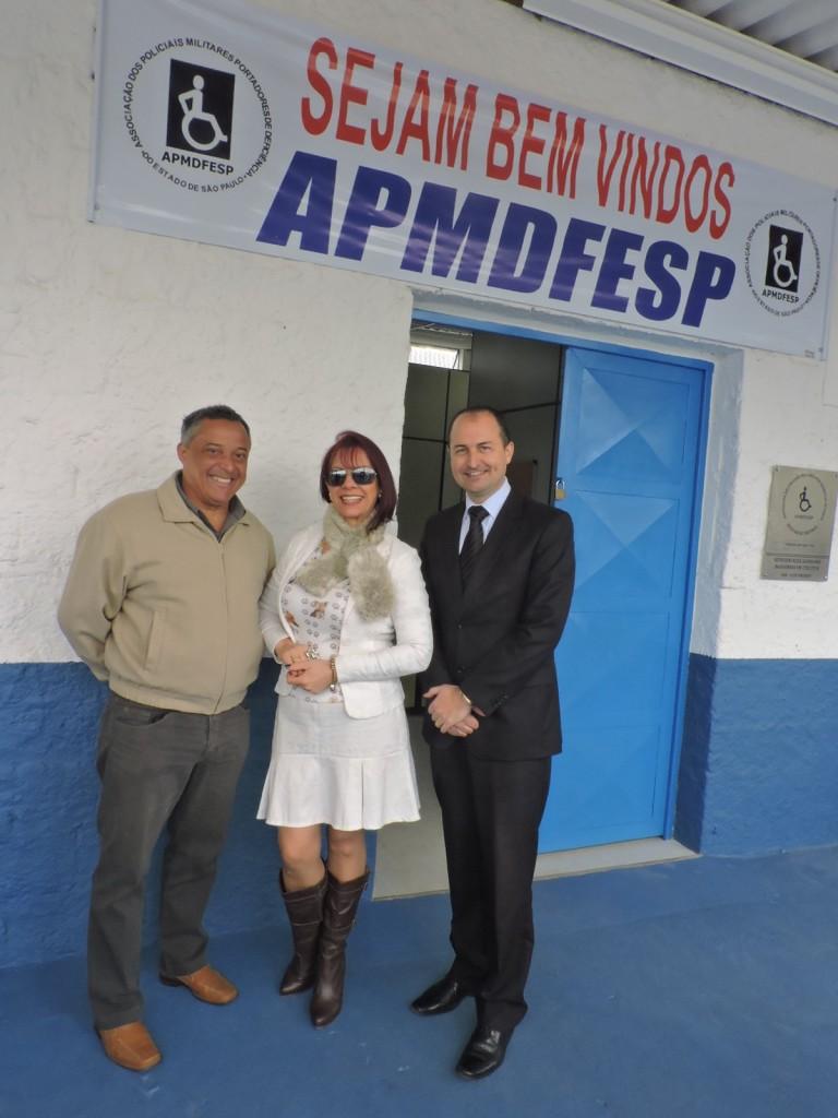 Mhel Lancerotti, Prof. Edvar e Coronel PM Cauzzo